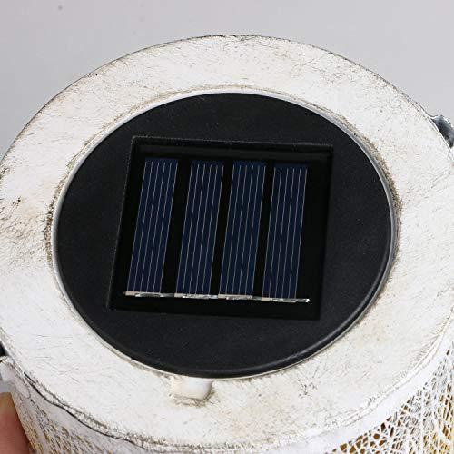 GolWof LED Solarpanel für LED Solarleuchten Garten
