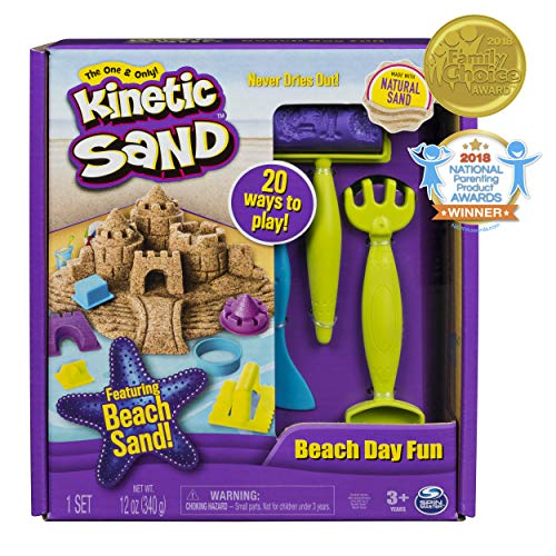 Use with Kinetic Sand Sands Sand 29PCS Sand Molds Kit with Portable Sand Tray