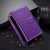 HHF Téléphone Portables Accessoires pour Huawei P Smart z Plus, Cartes de Cartes Portefeuille...