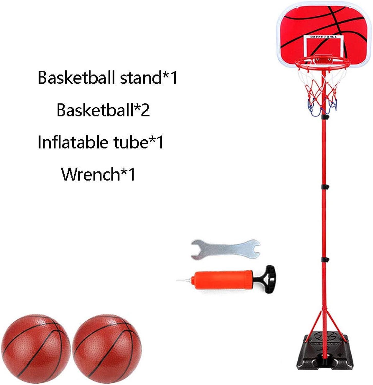 GEWCB Kinder Basketballkorb, Halterungstyp Kann Angehoben Und Gesenkt Werden Innen- Und Auenaufnahmen Spielzeug