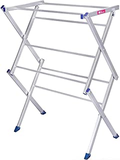 Casa CopenhagenHeavy Duty Rust-Free AG'21 - Aluminum Cloth Drying Stand/Clothes Dryer Stands/Laundry Racks with 7 Poll - S...