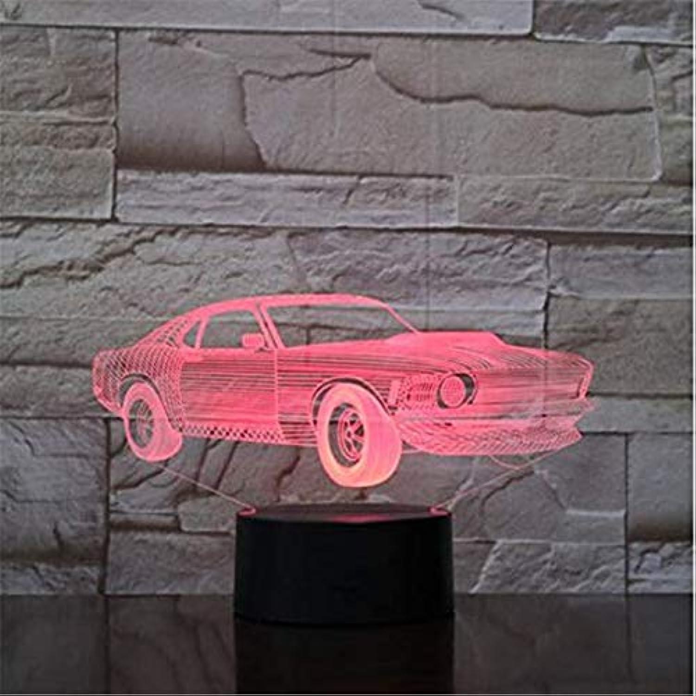 Led-leuchten Edison Lichter Cooles Auto Modell Spielzeug Touch Fernbedienung Nachtlicht