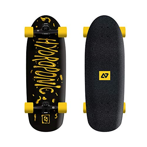 Hydroponic Surf Liquid Surfskate 30' X 10' Completo, Unisex Adulto, Black