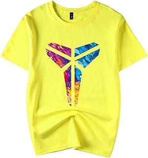 ad3d2d60 ACEGI de Baloncesto Kobe Bryant Negro Mamba Camiseta de algodón de los  Deportes de Verano de
