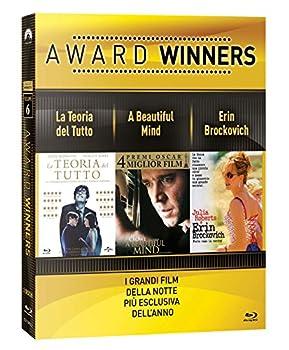la teoria del tutto / a beautiful mind / erin brockovich - oscar collection  3 blu-ray  box set BluRay Italian Import