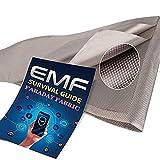 Faraday Fabric, Military Grade RFID Shielding Conductive Material Shields RF Signals 1 Yard, EMI Shielding, Cell Phone Signal Blocking, Bluetooth Block.Military Grade Conductive Fabric