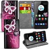 For ZTE Blade V7 Protective - Eco Leather Phone Case,
