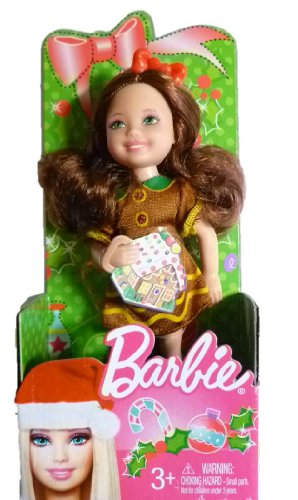 Barbie - X4475 - Exclusive - Weihnachts-Chelsea 2012 - Chelsea in Weihnachts-Outfit