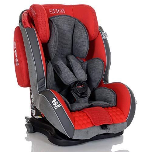 LCP Kids Auto Kindersitz GT 9-36 kg Isofix Liegefunktion SPS Side Protect Rot