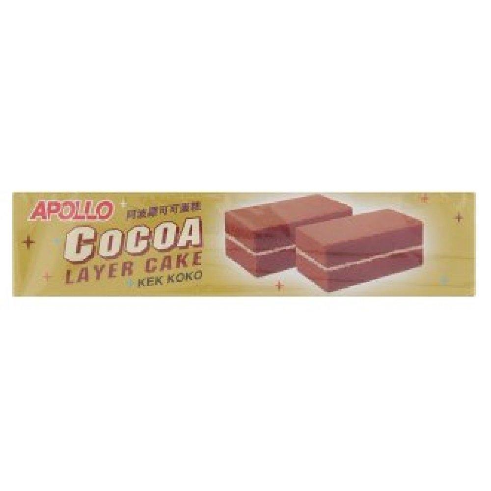 Apollo Layer Max 88% OFF Cake 18g Convi-Packs 24 628MART Cocoa Very popular