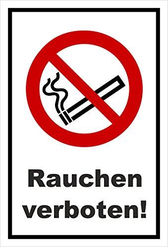 Melis Folienwerkstatt Aufkleber - Rauchen verboten - 30x20cm – S00355-005-A 20 VAR