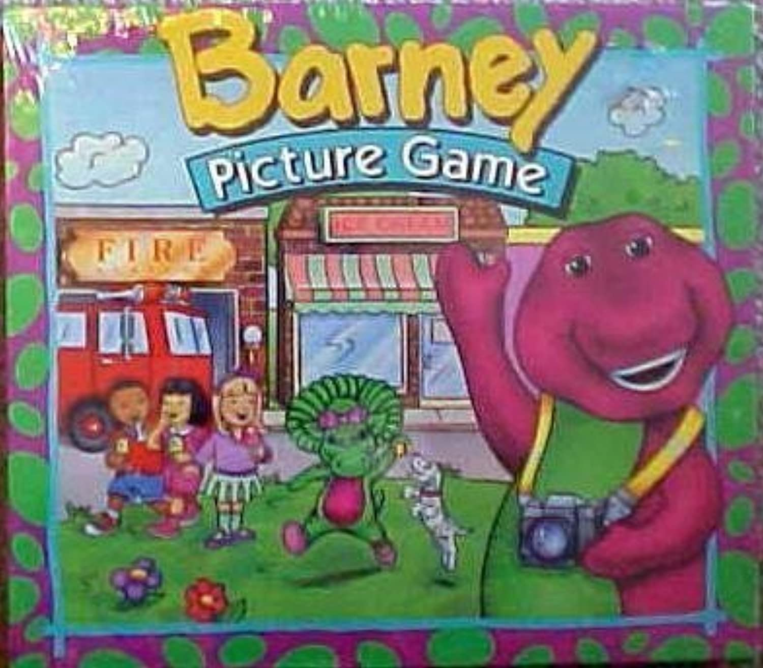 Barney Picture Game by Parker Brothers
