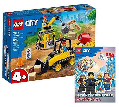 Collectix Lego 60252 - Juego de excavadora Lego City (cubierta blanda)