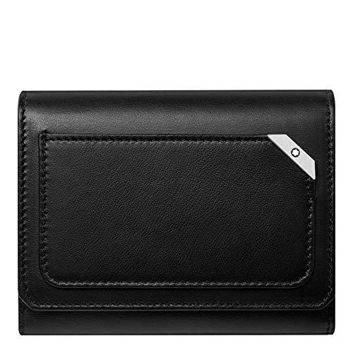 Montblanc Meisterstueck Black Leather Urban Business Card Holder 124102