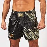 Leone 1947 - Pantalones Cortos Kick-Thai, Pantalones Cortos Kick-Thai Unisex – Adulto, Unisex Adulto, Pantalones Kick-Thai, AB901, Verde Mimetico, S
