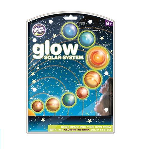 brainstorm The Original Glowstars Company Glow Solar System
