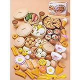 cocinita Juguete Alimentos de Juguete, Corte de Frutas y Alimentos Falsos, Cortar Frutas Verduras, Temprano Desarrollo Educación Juegos para Niños