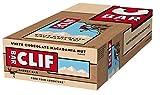 Clif Bar Barres Energétiques Chocolat Blanc/Noix de Macadamia 68 g - Boîte de 12