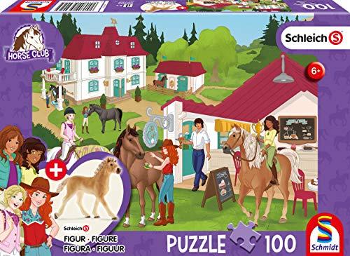 Schmidt Spiele 56402 Horse Club, Auf dem Reiterhof, 100 Teile...