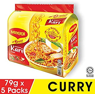 maggi extra spicy curry instant noodles