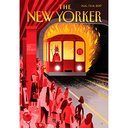 The New Yorker, August 7th and 15th 2017: Part 1 (Larissa MacFarquhar, Adam Gopnik, Jeffrey Toobin) audiobook cover art
