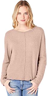 Women's Madison Brushed Sweater Rib Boatneck Top