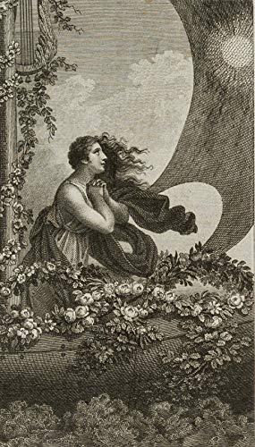 H. W. Fichter Kunsthandel: BÖHM; SCHNORR, Dame am geschmückten Schiffsbug stehend, 19. Jh, Kupfer
