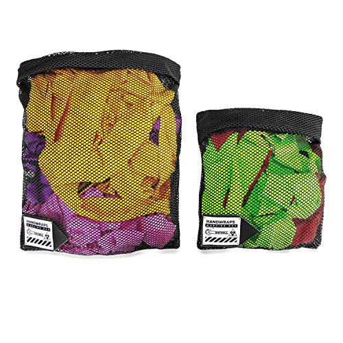 Sanabul Handwrap Washing Bag (Black, Large)