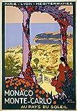ASHER Gift Vintage 1920 Monaco Monte-Carlo Au Pays Du