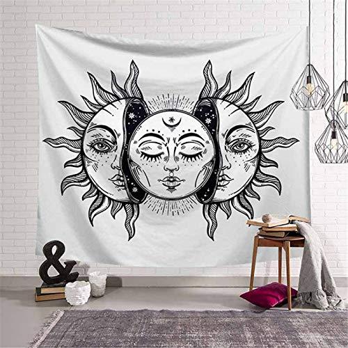 DHHY Polyester Bohemian Tapestry, Sun Mandala Tapestry Tapestry, Home Tapestry Beach Cloth