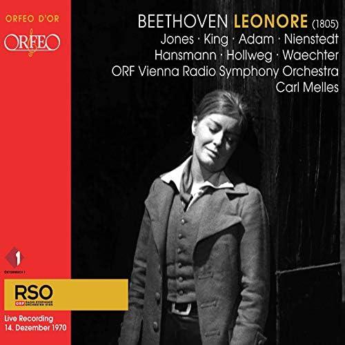 Dame Gwyneth Jones, James King, Gerd Nienstedt, ORF Vienna Radio Symphony Orchestra & Carl Melles