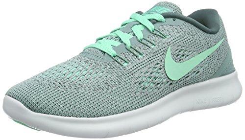 Nike Women's Free RN Running Shoe Cannon/Green Glow/Hasta/Off White Size 7