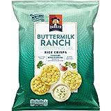 Quaker Rice Crisps, Gluten Free, Buttermilk Ranch, 6.06oz Bags, 6 Count