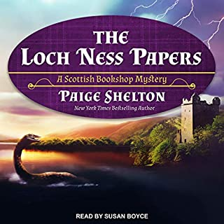 The Loch Ness Papers     Scottish Bookshop Mystery Series, Book 4              Written by:                                                                                                                                 Paige Shelton                               Narrated by:                                                                                                                                 Susan Boyce                      Length: 9 hrs and 2 mins     Not rated yet     Overall 0.0