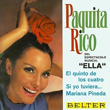 """Del Espectáculo Musical """"Ella"""""""