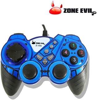 Mando para juegos ZONE EVIL ZE-535S Azul
