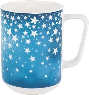 Portobello Devon Cosmic Bone China Mugs Tea Cups, Set of 2