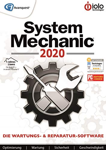 System Mechanic 2020 | Standard | 1 Jahr | PC | PC Aktivierungscode per Email