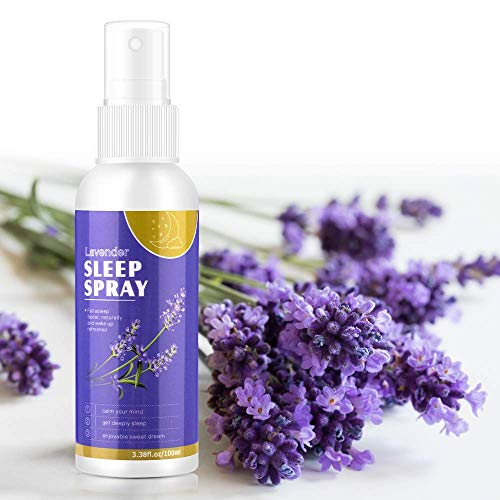 Nimiah Lavender Spray for Sleep Aromatherapy Spray for Face Body Rooms and Linens Helps Relax & Sooth Deep Sleep Pillow Mist