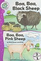 Baa, Baa, Black Sheep and Baa, Baa, Pink Sheep (Tadpoles Nursery Rhymes)