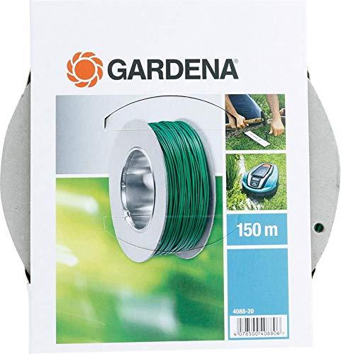 Gardena 4088-20 Robusto Filo Perimetrale Guida per Robot Rasaerba Gardena, Utilizzabile per Tutti i Robot Rasaerba Gardena