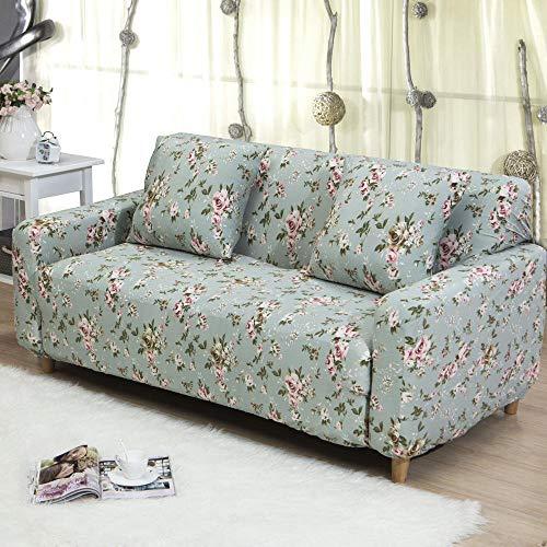 LHYLJN Sofa Cover 1 2 3 4 Seater Slip Cover Sofa Couch Stretch Elastic Fabric Sofa Protector,Ke-31,4 Seater