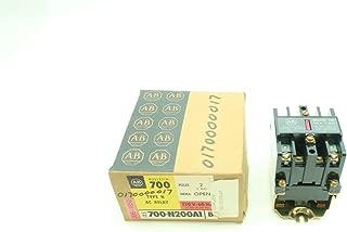 ALLEN BRADLEY 700-N200A1 TYPE N RELAY 120V-AC SER C D615777