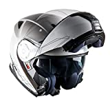 ASTONE RT1200 - Casco Modular (Talla L), Color Blanco