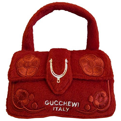 Dog Diggin Designs Runway Pup Collection | Unique Squeaky Parody Plush Dog Toys – Haute Couture Purses & Handbags