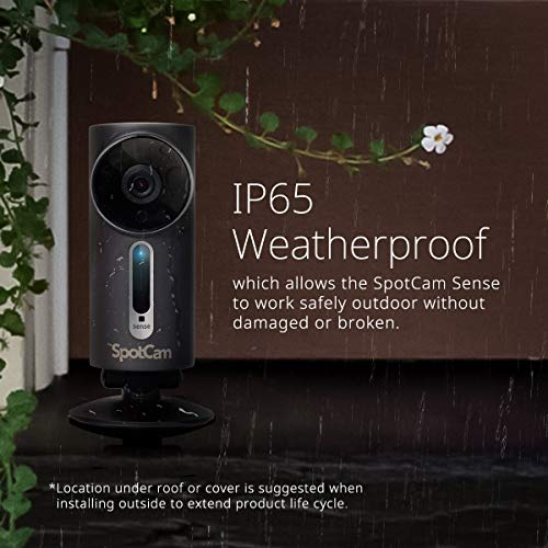 SpotCam 1080P Full-HD IP-Kamera / WLAN-Überwachungskamera Outdoor mit Smart Home Integration - 3