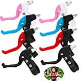 dancepandas Palancas de Freno de Bicicleta 8PCS Niños General Maneta de Freno Plastico Brake Levers Repuesto de Bicicletas Accesorios de Bicicletas (4 Colores)