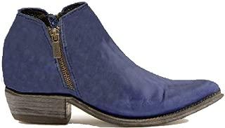 Women's Russian Blue Vegas Leather Bootie