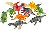 12 Dinosaurier Figuren 5-6 cm groß Dino Party Mitgebsel Give Away Tombola