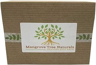 Mangrove Tree Naturals Organic Herb Sitz Bath Soak, Healing Bath Postpartum Care & Hemorrhoid Treatment with Witch Hazel, Lavender & Himalayan Salt, 4 Reusable Muslin Infusing Bags